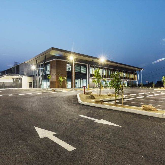 DHL Oakdale South Industrial Estate