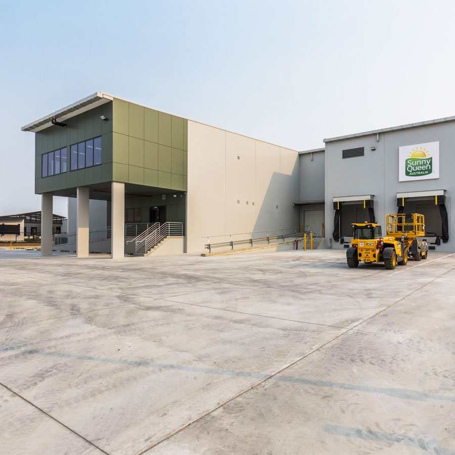 Sunnyqueen NSW Warehouse Office Project